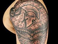 Elimination Tattoo: Shoulder Armor