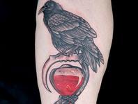 Elimination Tattoos: Hourglass