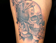 Elimination Tattoo: 7 Deadly Sins - Black & Grey