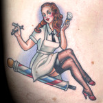 Elimination Tattoo: Pin Up