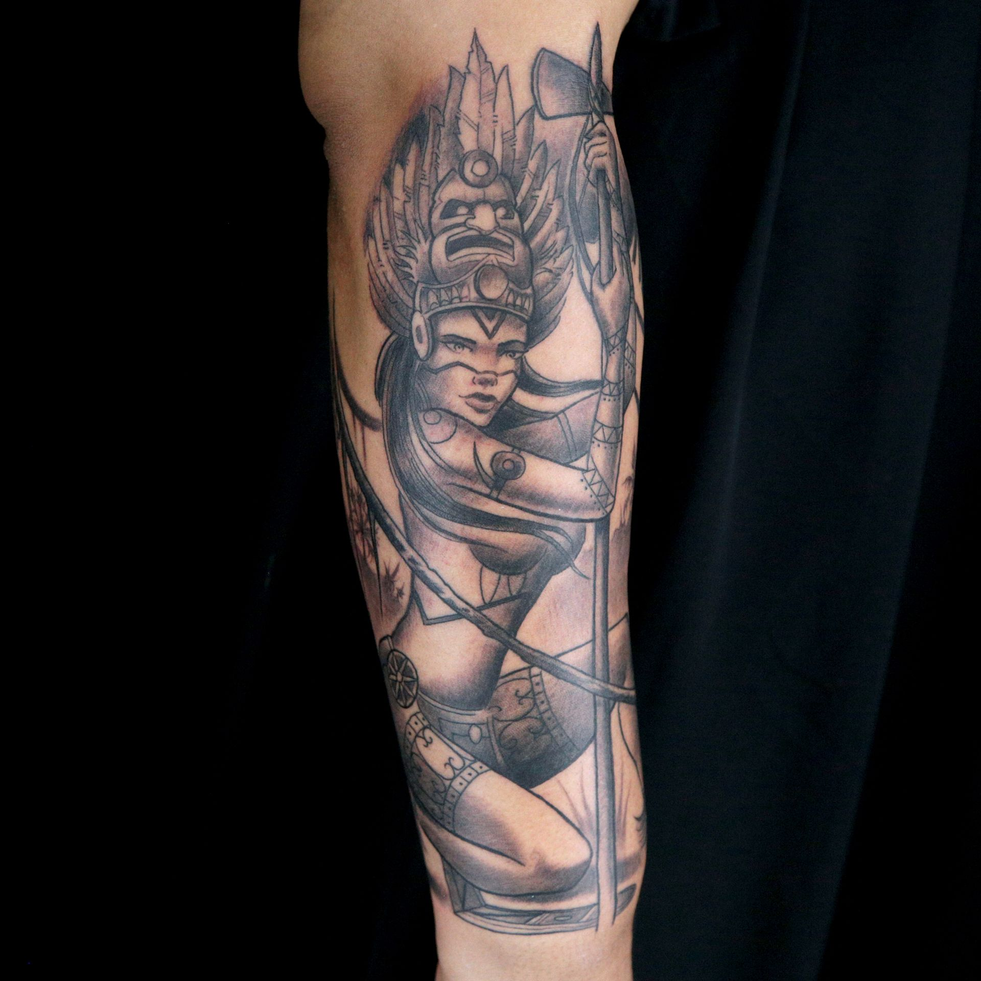 Elimination tattoo pin up ink master for Empire ink tattoo