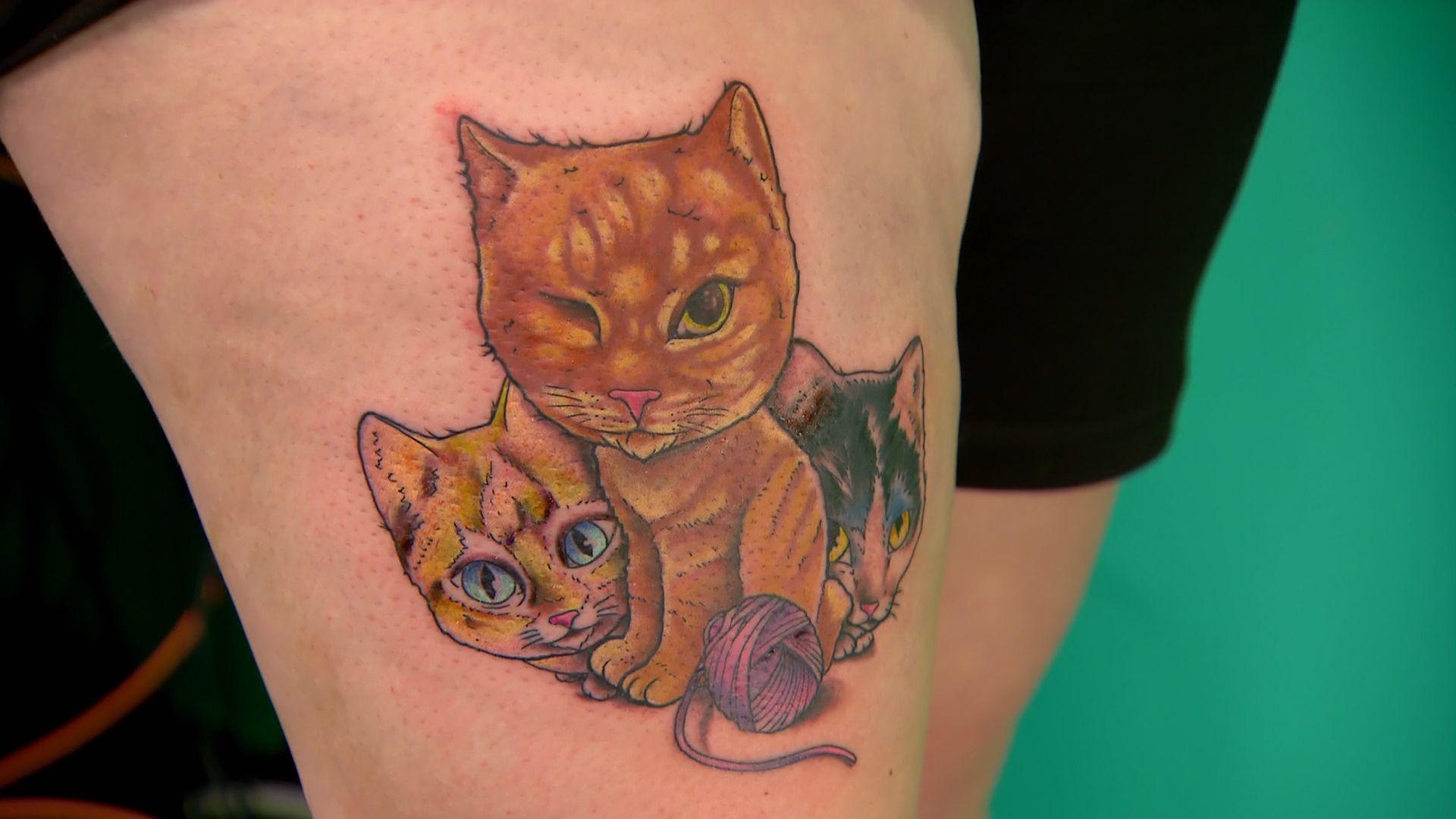 Elimination Tattoo New School Part Ii Ink Master Spike