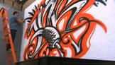 Flash Challenge 7: Graffiti Lettering