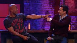 Preview Jimmy Fallon Battling Dwayne Johnson