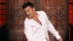 Ricky Martin performs 'Old Time Rock and Roll'