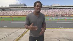 Dhani Checks Out NASCAR