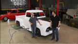 Truck Tech: Project Basket Case:  Custom cut glass & final assembly
