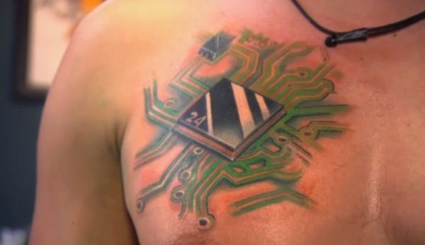 backward circuitry tattoo nightmares spike. Black Bedroom Furniture Sets. Home Design Ideas