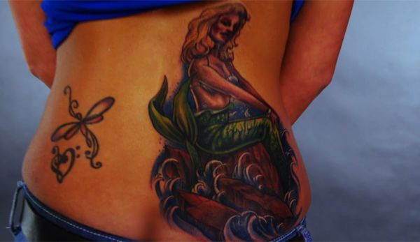 A happy blonde bombshell tattoo nightmares spike for Is tattoo nightmares still on