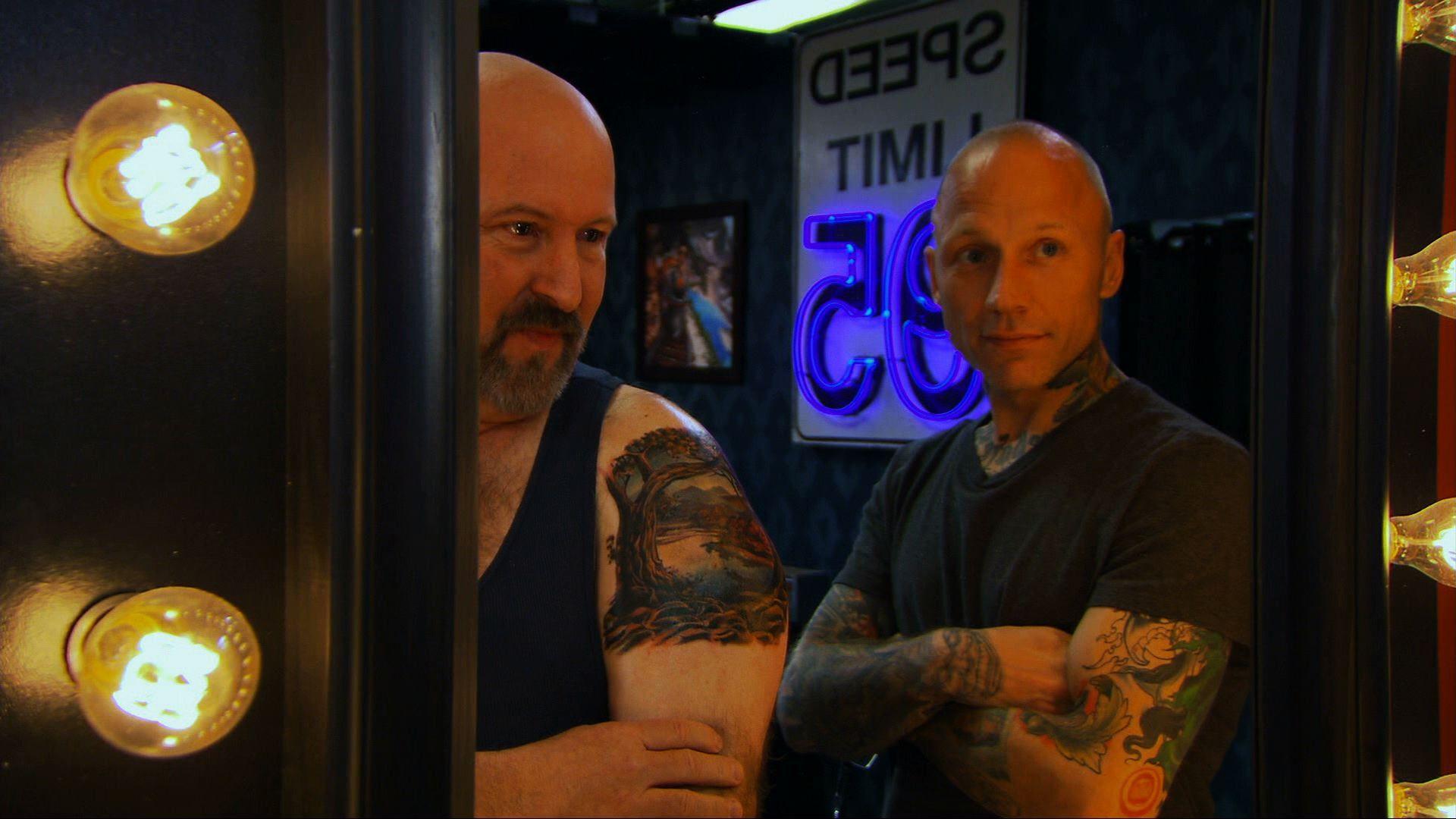Tattoo nightmares season 2 ep 10 starfish booty for Tattoo girls full episodes