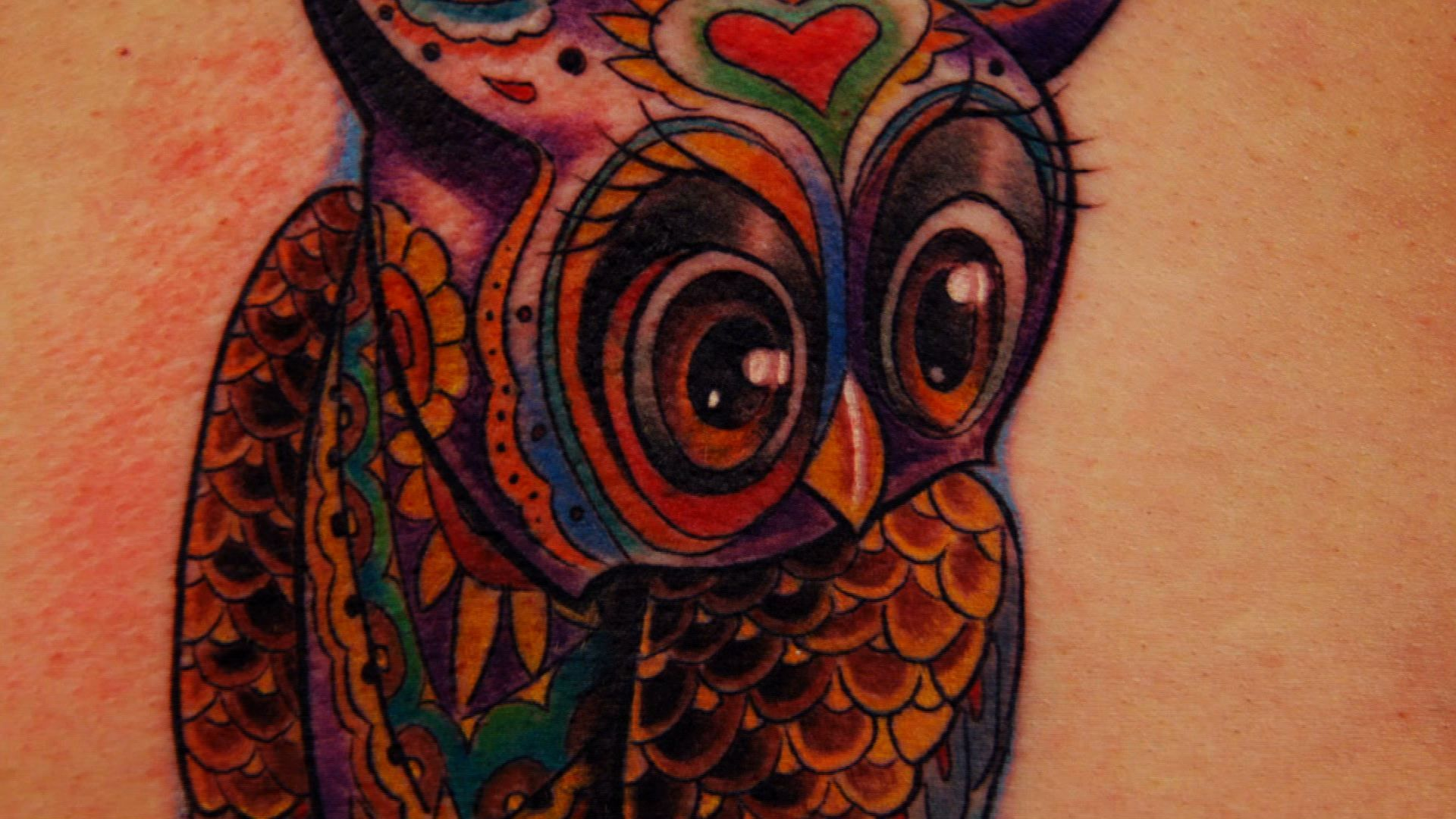 Wise as an owl tattoo nightmares spike for Tattoo nightmares tommy helm