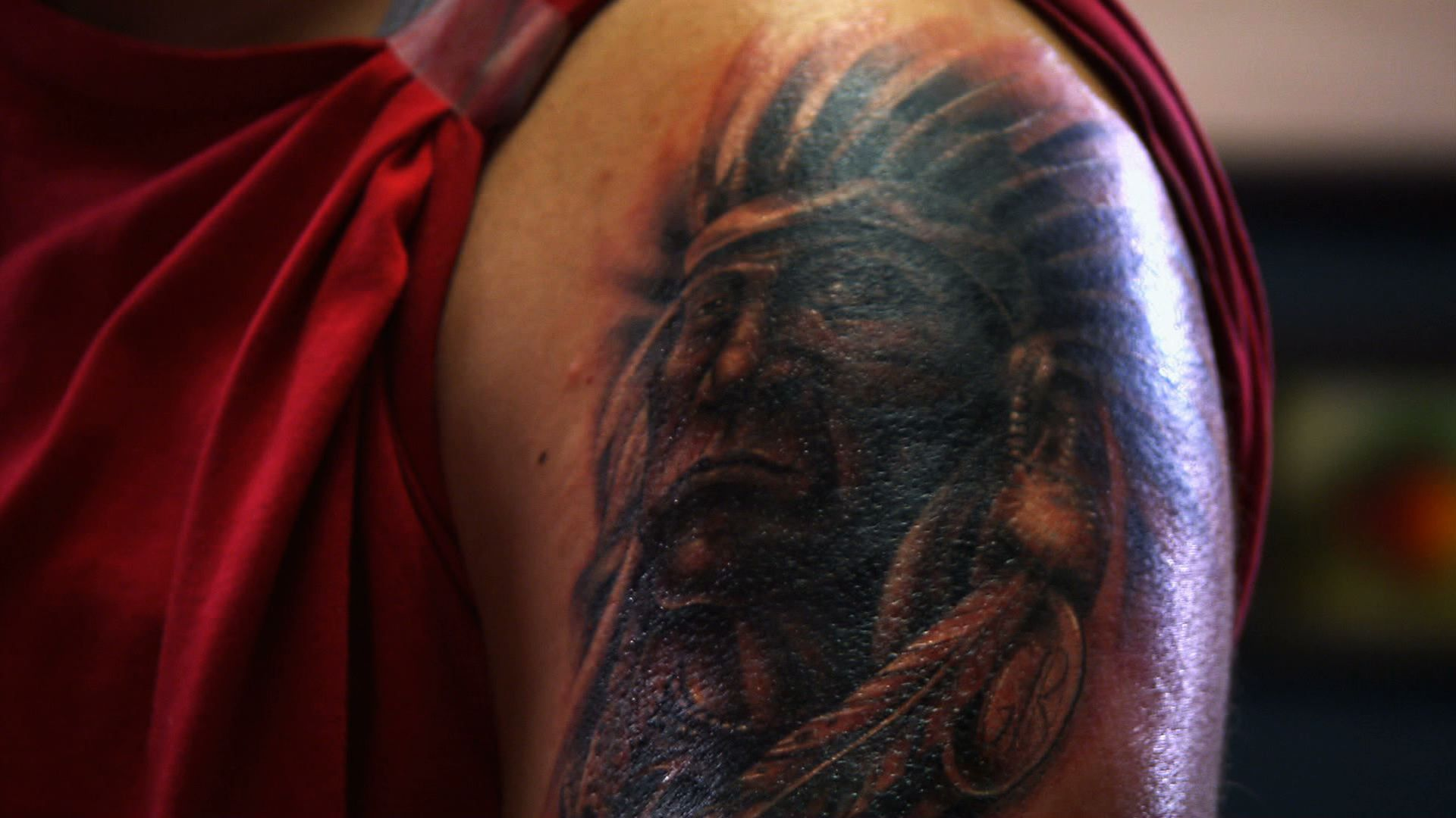 Geronimo tattoo nightmares spike for Is tattoo nightmares still on