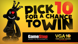 Spike Teams Up with GameStop for VGA 10 Sweeps